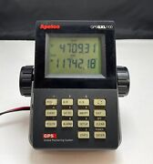 Apelco Gps Gxl1100 Marine Navigation Unit Tested And Works W/wiring Harness