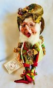 Mark Roberts North Pole Forest Elf 51-41444 Sm 10 416 Of 2500 W Certificate