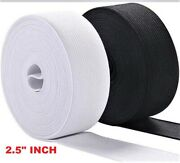 Elastic 2.5 Inch 100 Yard Sewing Elastic High Quality Made In Usa Free Shipping