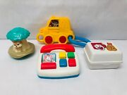 Fisher Price Mcdonalds Baby Toy Lot 1990s Vintage Toys Telephone Rattle And More
