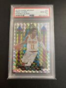 Trae Young Hawks 2019-20 Panini Mosaic Stained Glass Prizm 4 Psa 10 Gem Mint🔥