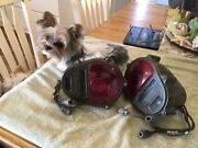 Nos Pair Military Truck Vehicle Rear Tail Composite Lights Us Made