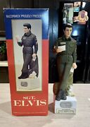 Sgt/sergeant Elvis Presley Decanter By Mccormick With Music Box