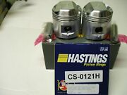 Bsa A65 650cc Jcc .020 Over Pistons And Hastings .020 Over Rings.