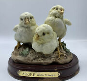 Adore Wildlife Collection Hatching Chicks Baby Chicken Detailed Resin Statues