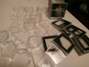 54 Pc Coin Capsules For Silver And Copper Roundsquare Misc Sizes