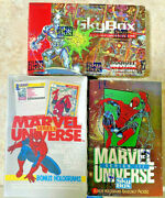 1991-1992-1993 Marvel Universe Series 2 3 And 4 Factory Sealed Boxes Sale Priced