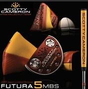 Scotty Cameron Futura 5mbs Japan Limited 34inch Putter Rare 88
