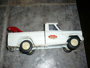 Tonka Jeep Pickup Tow Truck Wrecker Missing Parts White