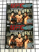 Ufc Sealed Box 2010 Topps Ufc Main Event Cards 18 Pack Rack Pack Hobby Box Auto