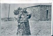 1967 Photo Indians Electricity New Life Magdalena Nm Alamos Woman 7x9