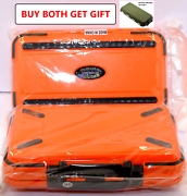 Fishing Tackle Box Lure Waterproof Compartments 2 Layer Hook Storage Case