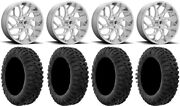 Fuel Runner 20 Wheels Polished 35 Motoclaw Tires Can-am Commander Maverick