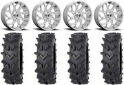 Fuel Runner 20 Wheels Polished 36 Outback Maxand039d Tires Polaris Ranger Xp 9/1k