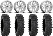 Fuel Runner 20 Wheels Polished 34 Xm310r Tires Can-am Renegade Outlander