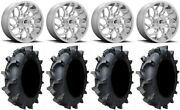 Fuel Runner 18 Wheels Polished 35 Interforce 628 Tires Polaris Rzr Turbo S/rs1