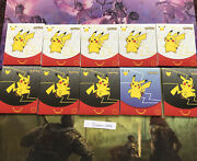Pokemon 25th Anniversary Mcdonalds 2021 Promo Sealed Pack In Hand Lot Of 10