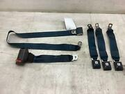 84-87 Oldsmobile Cutlass Left And Center Rear Seat Belts W/ Buckles