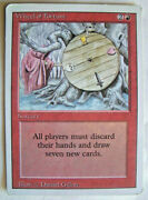 Wheel Of Fortune 3rd Edition Revised Mtg Magic The Gathering Pl Rare Card