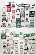 Lot Of 71 Various Hess Trucks Banks Fire Monster Cars Planes Helicopters