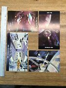 2001 A Space Odyssey - 1968 Cinerama Movie Poster Post Card Set G1a