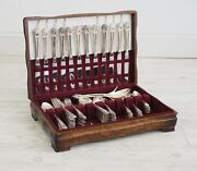 1847 Rogers Bros Eternally Yours Is Silverware Tarnish Resistant Chest 98 Pc /c
