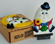 Vintage Homco Nursery Rhymes Decor Humpty Dumpty And The Cow Jumped Over The Moon