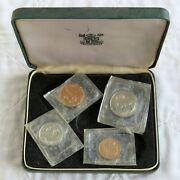 Zambia 1968 4 Coin Proof Year Set - Sealed/boxed