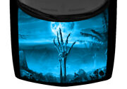Skeleton Hand Grave Cemetery Light Blue Truck Hood Car Wrap Vinyl Graphic Decal