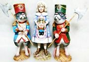 Alkota Russian Genuine Wooden Collectible Composition Mary And Warriors Unique