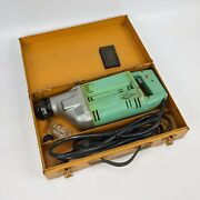 Widder Mini Roto Electric Hammer Drill Tool - Vintage Italy Rare