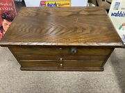 Antique Store Wood Cabinet Display Jemmings Co Draws 21andrdquo By 13andrdquo By 10andrdquo