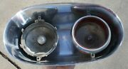 1960 Cadillac Rear Bumper Stainless Steel Tail Light Housing For Parts Oem