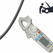 Digital Clamp Meter Ac/dc 1ma Auto Range Live Check Temp Frequency Capacitor