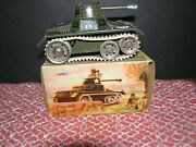 Antique Gama Tank With Star Made In U.s. Zone Occupied Germany, Original Key Andob