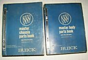 1940 - 1967 Buick Master Chassis And Body Parts Book Original 2425 Pages Complete