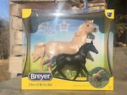 Breyer Horse New 2021 Cloud's Encore And Tor Gift Set 1840 In-hand Nib