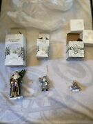 Vintage Christmas Legacy Collection And Charming Tails Christmas Ornament Lot Of 3