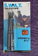 S.w.a.t. Swat Telescope Moc Sealed 1975 Fleetwood Toys 1970and039s Tv Series