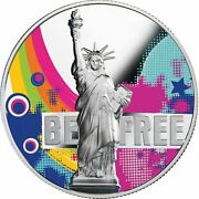 Freedom Is The Oxygen Of The Soul - Be Free 2 Oz Proof Silver Coin Cameroon 2018