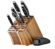 Pampered Chef Knife Set And Block