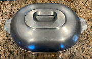 Wagner Ware Sidney Magnalite 4265 P Aluminum Roaster Dutch Oven W/lid And Insert