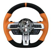 Steering Wheel Fit To Ford Mustang Vi 6 Leather 50-2909