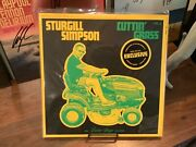 Sturgill Simpson Cuttin' Grass Vol. 1 Opaque Green And Yellow Double Vinyl Limited