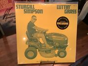 Sturgill Simpson Cuttin' Grass Vol.1 Opaque Green And Yellow Vinyl Indie Exclusive