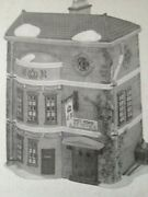 New Dept. 56 Dickens' Village Series King's Road Post Office 5801-7 Retired