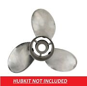 Thunderbolt 15 1/2 X 17 Qs5004x Stainless Steel Prop For For Omc Sea Drive