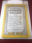 Vintage National Geographic April 1955 The Canaries Ohio Sea Underworld A12