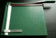 Vintage Premier Paper/photo Cutter Model 2-12 Metric And Inches