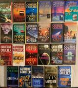 Lot 23 Catherine Coulter Fbi Book Series 1-23 Cove - Labyrinth Paperback